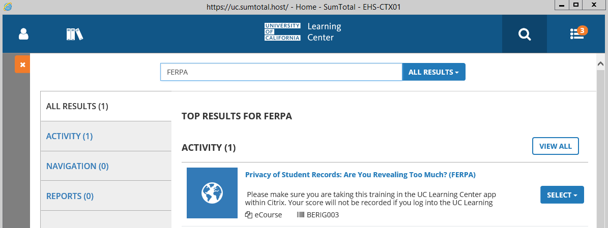 How To Sign Up For Ferpa Training And Download Your Completion