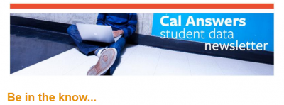 cal answer newsletter